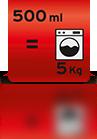 500ml für 5kg